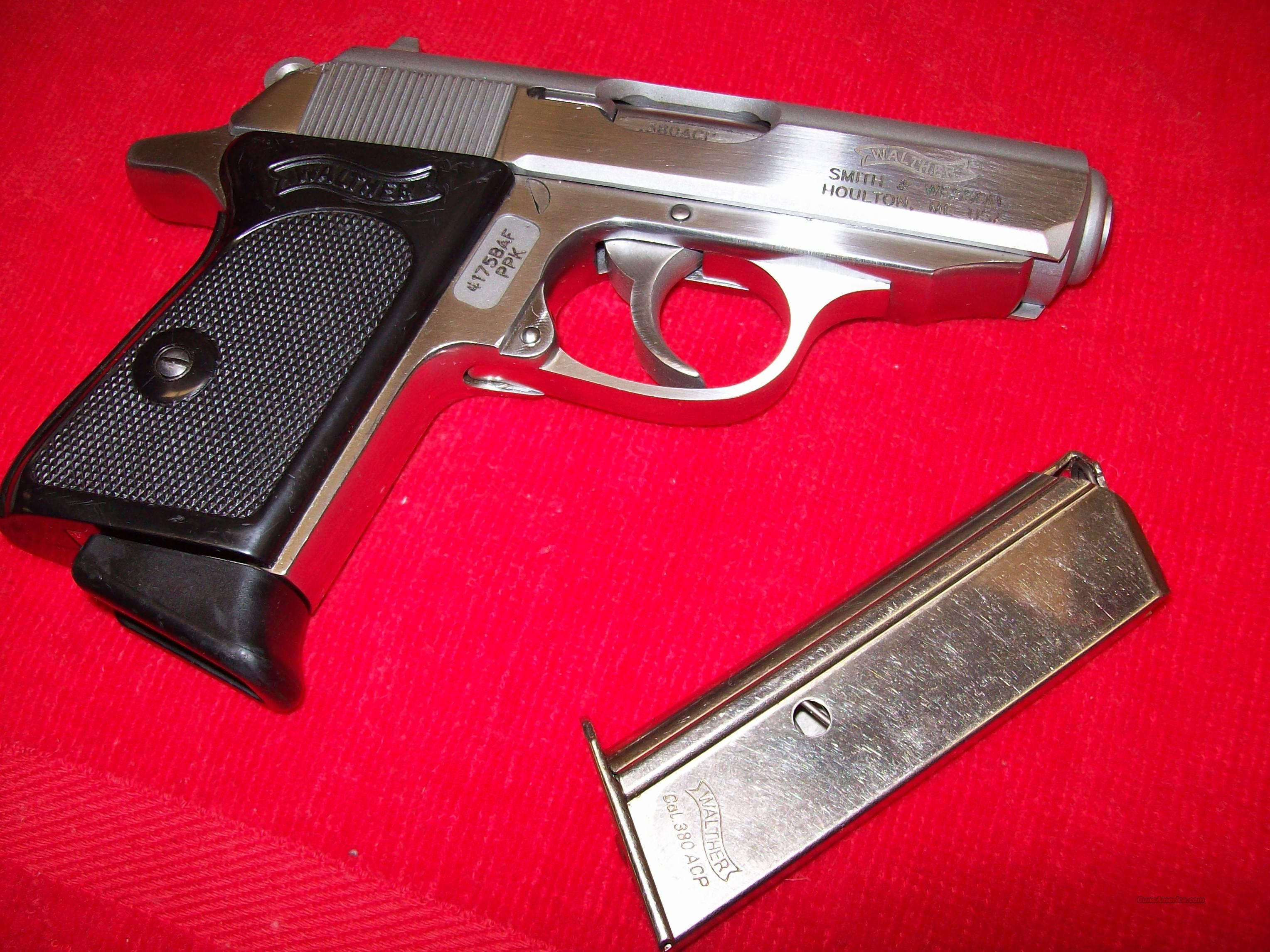 Walther(S&W) Stainless PPK  Guns > Pistols > Walther Pistols > Pre-1945 > PPK