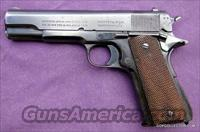 Colt Automatic 45 Caliber w/Holster, 3 clips, Government Model, Ser#C3273   Guns > Pistols > Colt Automatic Pistols (1911 & Var)