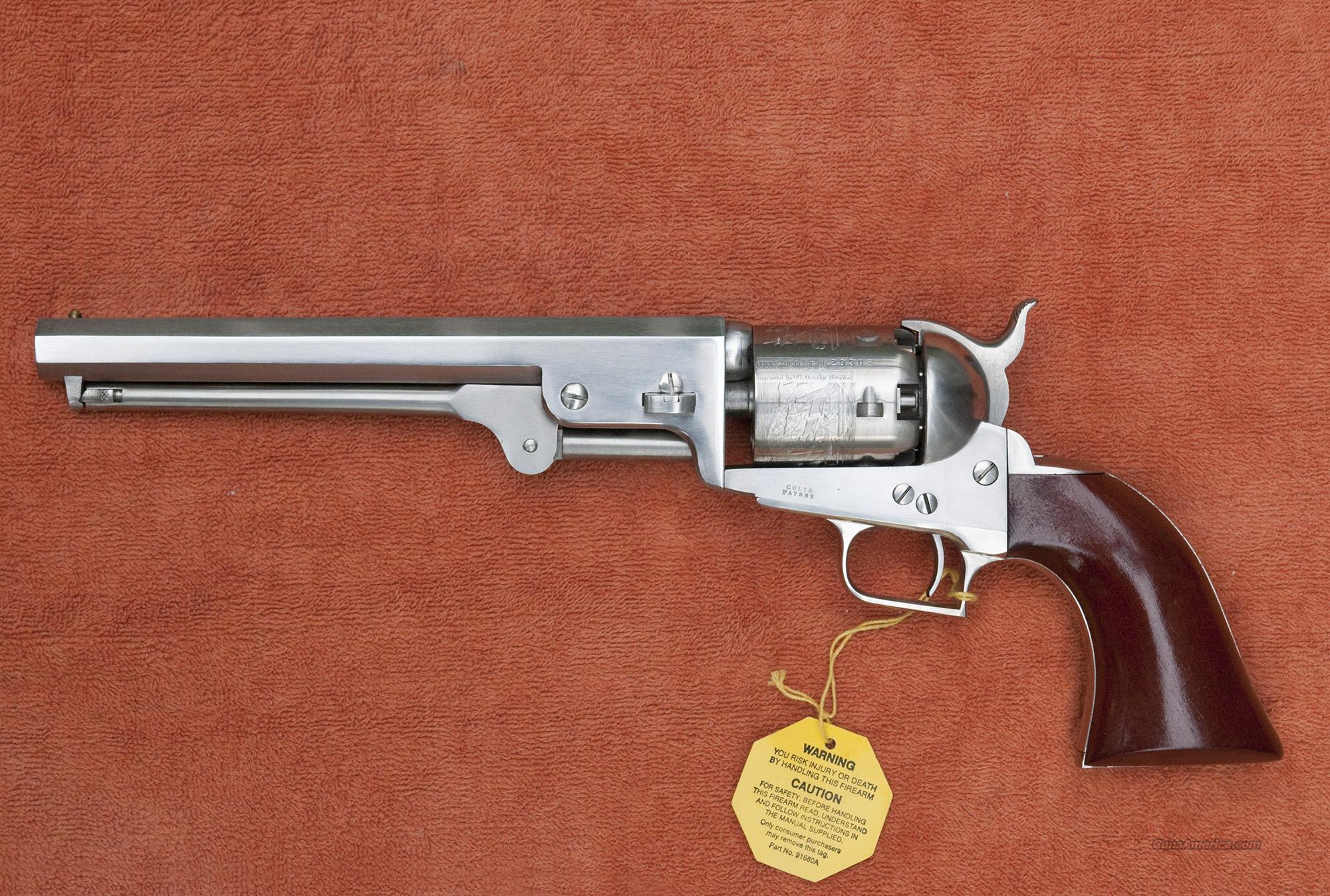 Second Generation Colt 1851 Navy--Stainless Ste... for sale