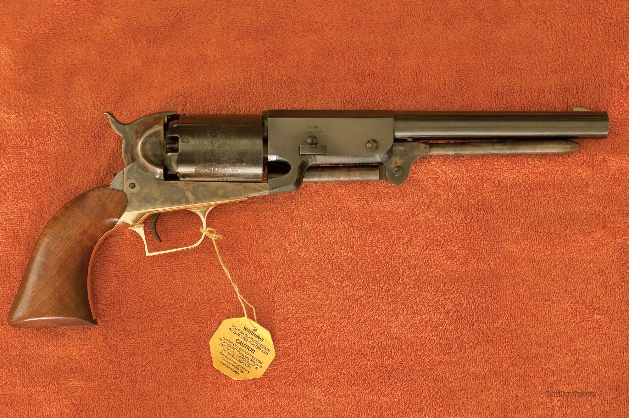 Colt 1847 Walker--Second Generation  Guns > Pistols > Colt Percussion Revolver - Modern