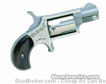 "North American Arms .22LR Mini-Revolver 1 1/8"" Barrel 5 Shot Stainless NAA-22LR  Guns > Pistols > North American Arms Pistols"
