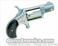 "North American Arms .22LR Mini-Revolver 1 1/8"" Barrel 5 Shot Stainless NAA-22LR  North American Arms Pistols"