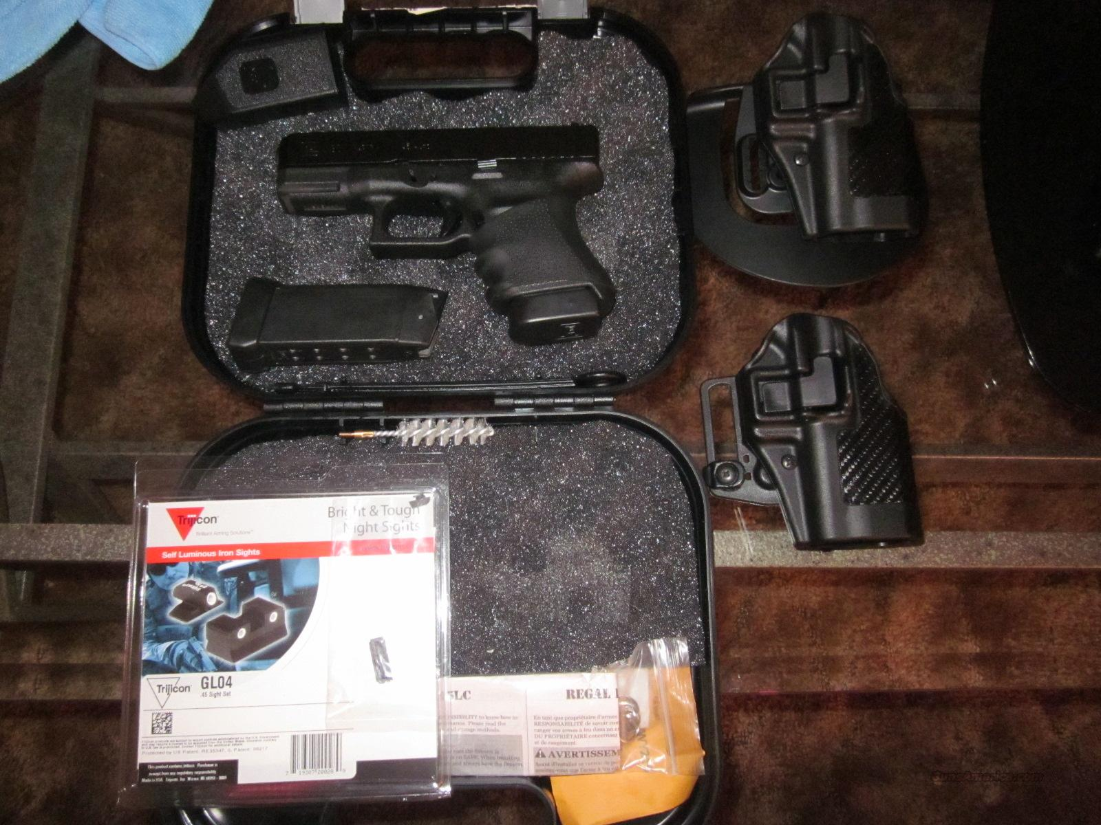 Glock 30 SF W/ 2 new serpas and New Night Sights  Guns > Pistols > Glock Pistols > 29/30/36