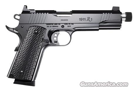 Remington 1911 R1 Enhanced Threaded Barrel 45 ACP  Guns > Pistols > Remington Pistols - Modern > 1911