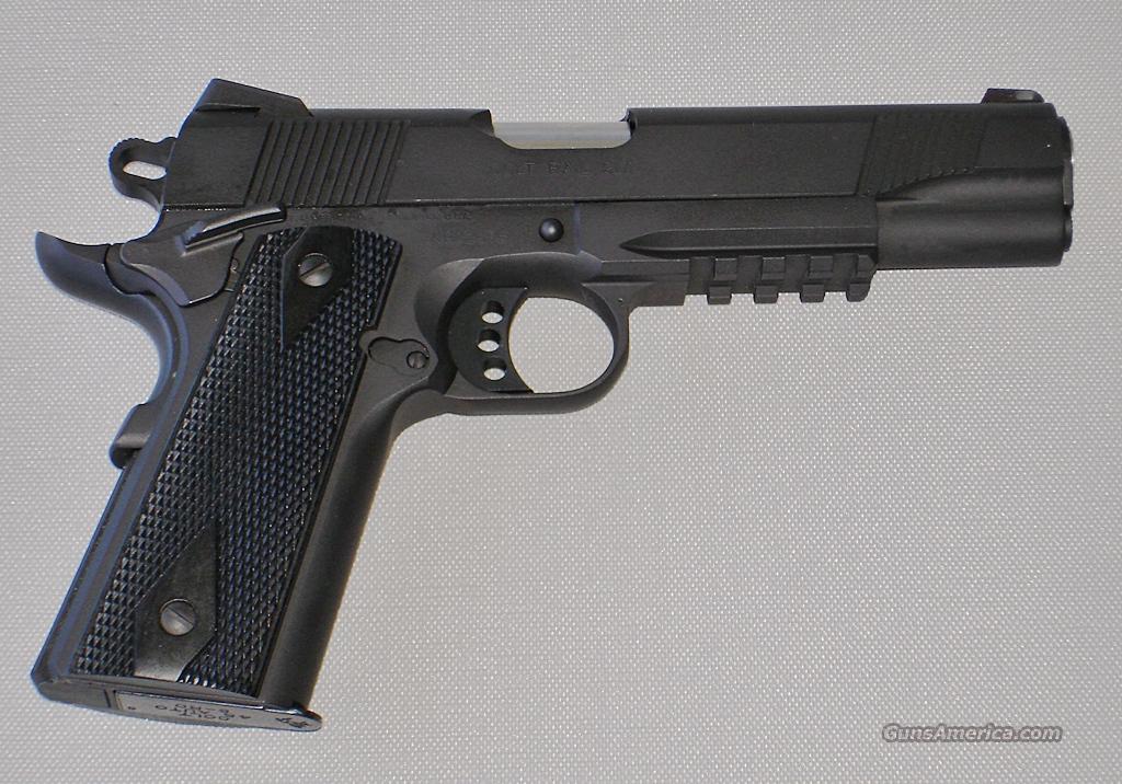 Colt Xse Government 45 Acp Black Rail For Sale