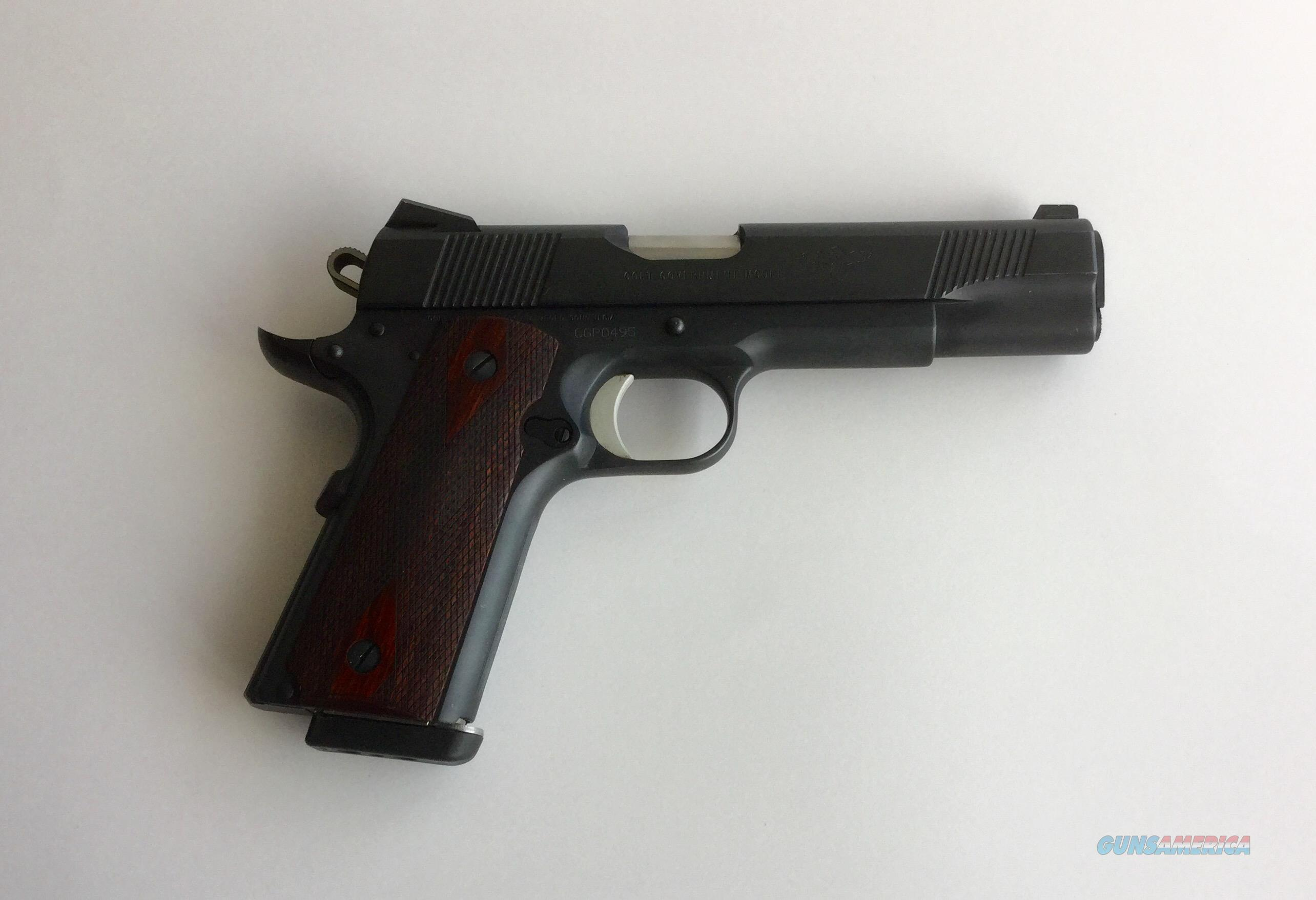 Colt Gunsite Model O Blue 45 ACP  Guns > Pistols > Colt Automatic Pistols (1911 & Var)