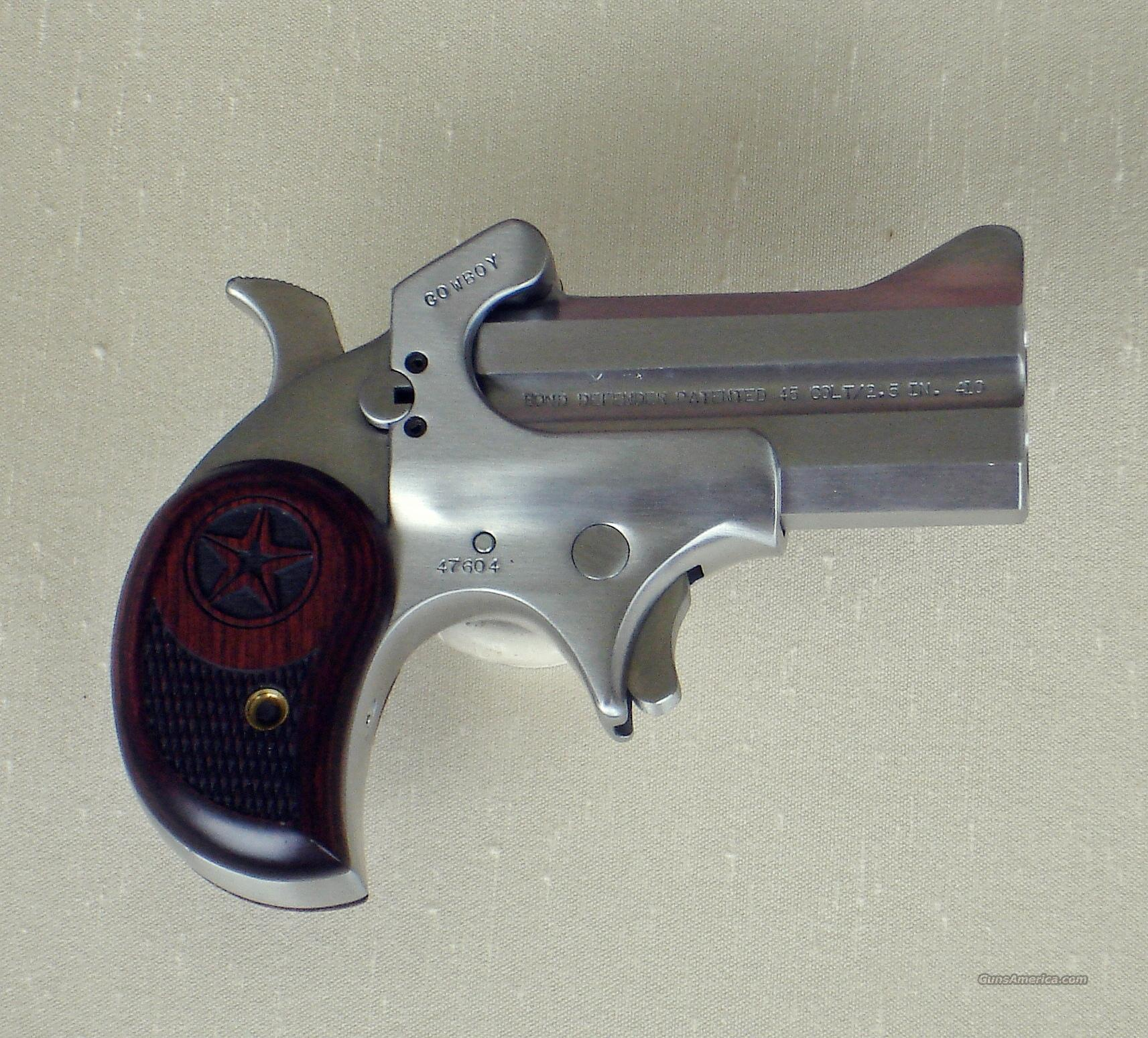 Bond Cowboy Defender 45/410 SS  Guns > Pistols > Bond Derringers