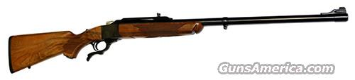 Ruger No. 1 Sporter 45-70 Gov Circassian  Wood Stock 26 in BL Barrel  Guns > Rifles > Ruger Rifles > #1 Type