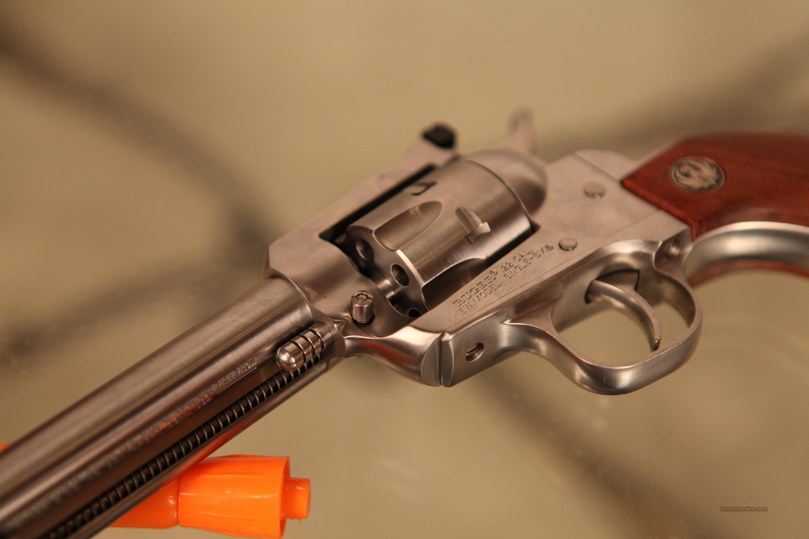 Ruger Single Six .22 LR .22 Magnum SS   Guns > Pistols > Ruger Single Action Revolvers > Single Six Type