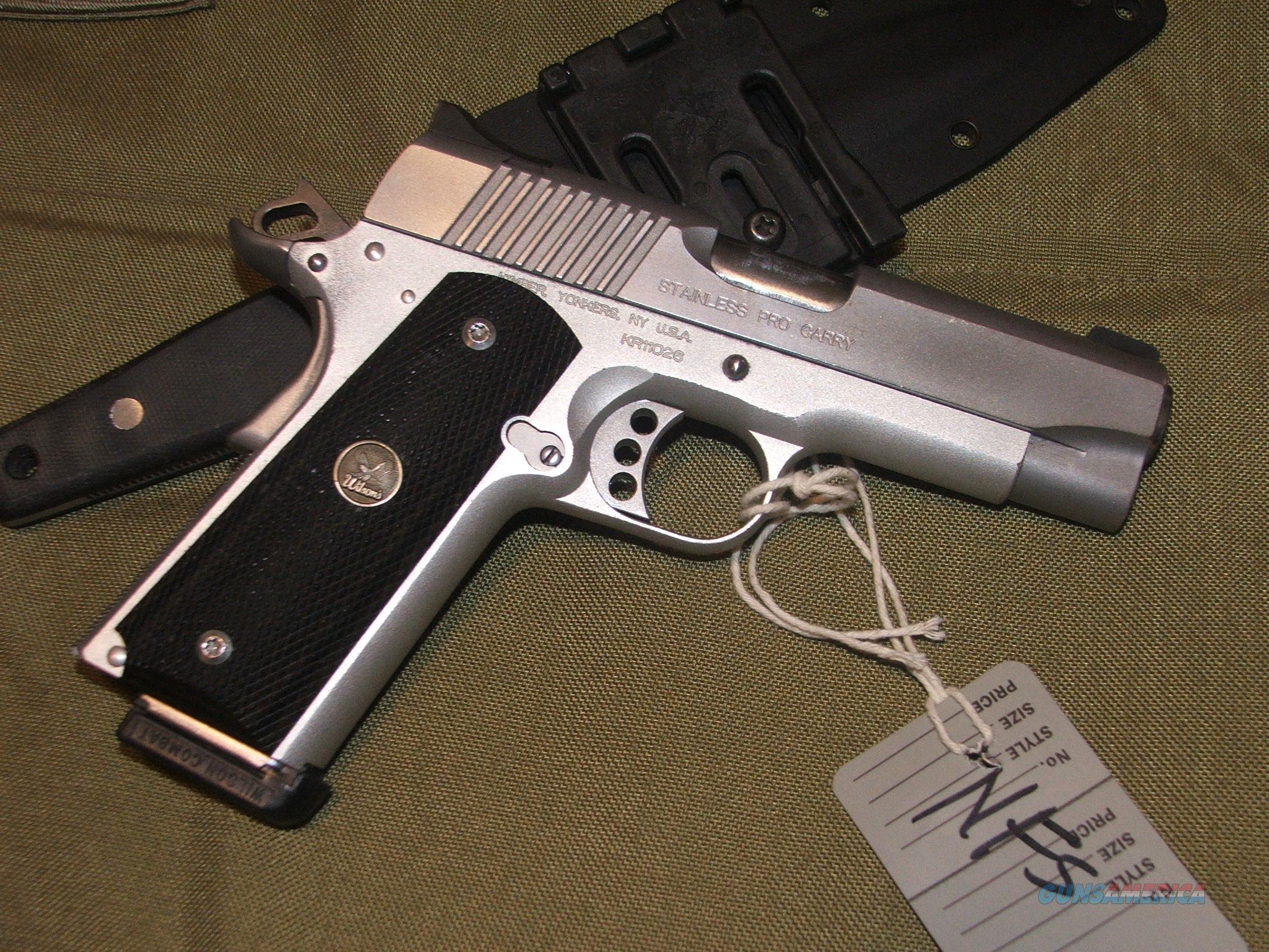 Kimber 1911 Pro Carry II in .45 ACP **priced to move**  Guns > Pistols > Kimber of America Pistols > 1911
