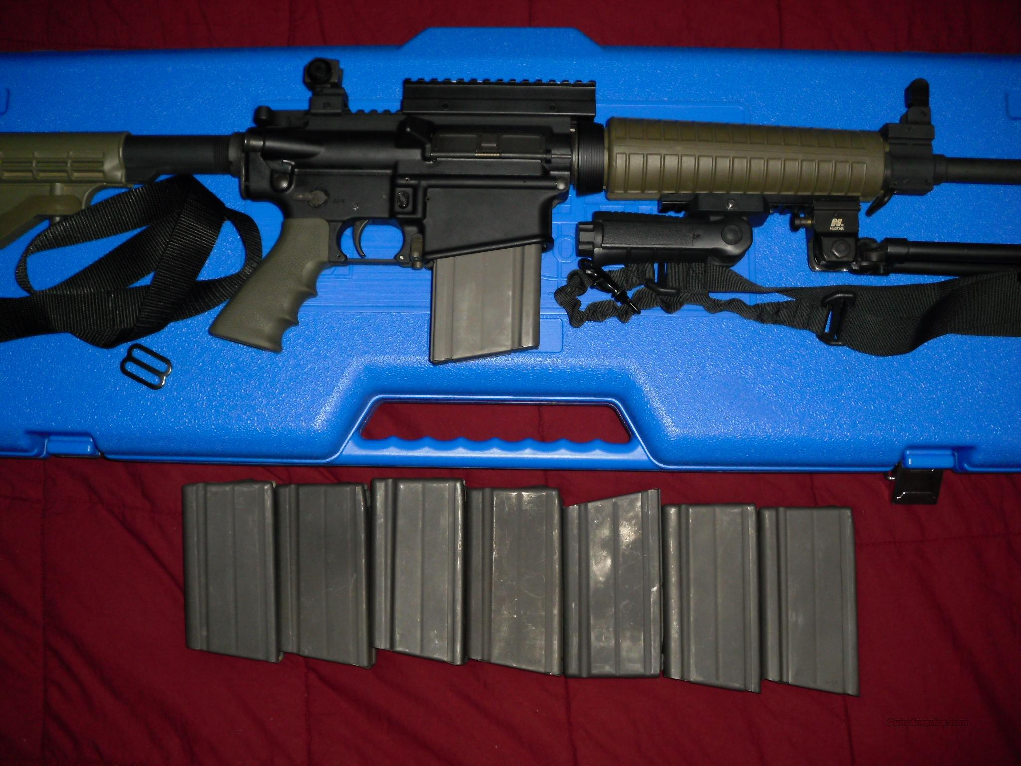 RRA LAR-8    308/762nato  with extras   Guns > Rifles > Rock River Arms Rifles