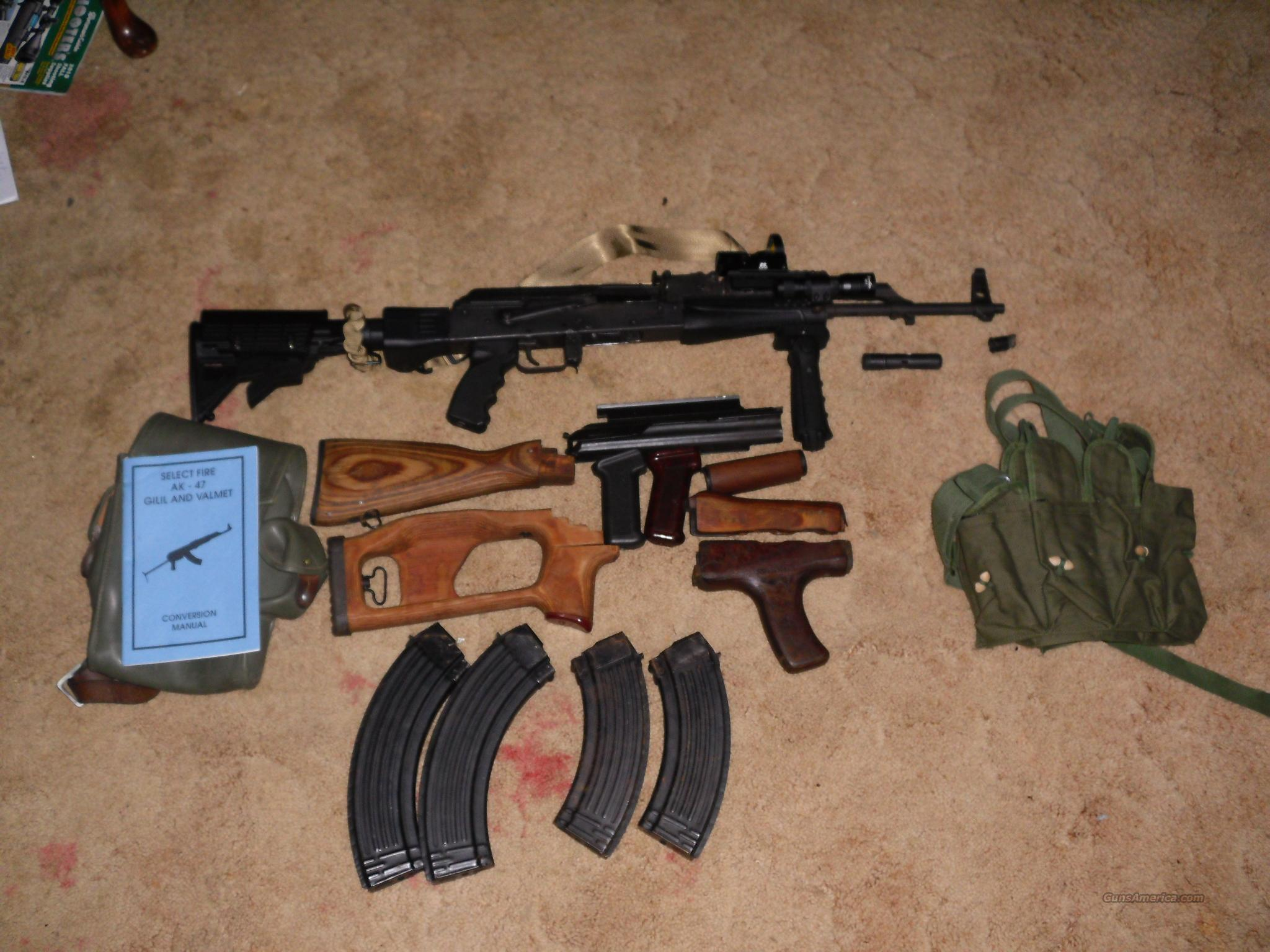 Built Romanian AK with many extras  Guns > Rifles > AK-47 Rifles (and copies) > Folding Stock