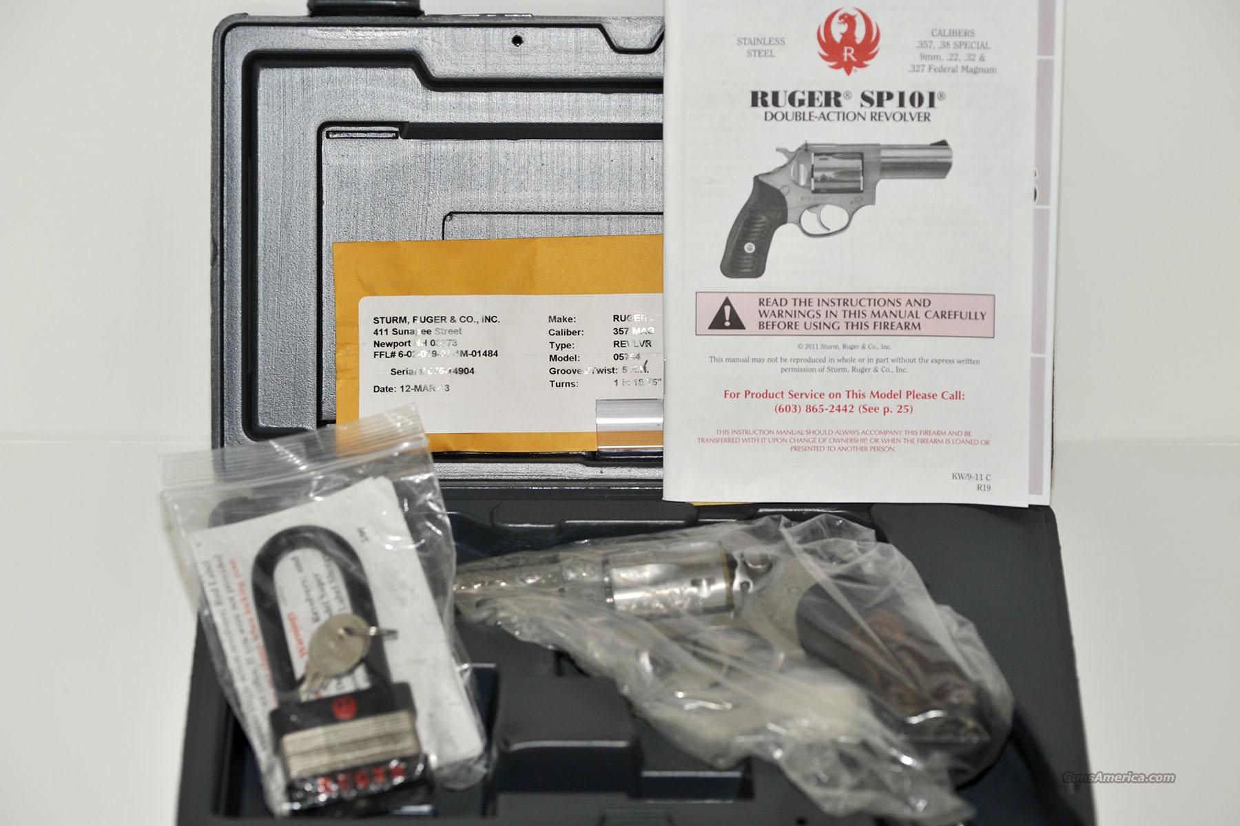 Ruger SP101 Talo Edition .357 Magnum  Guns > Pistols > Ruger Double Action Revolver > SP101 Type