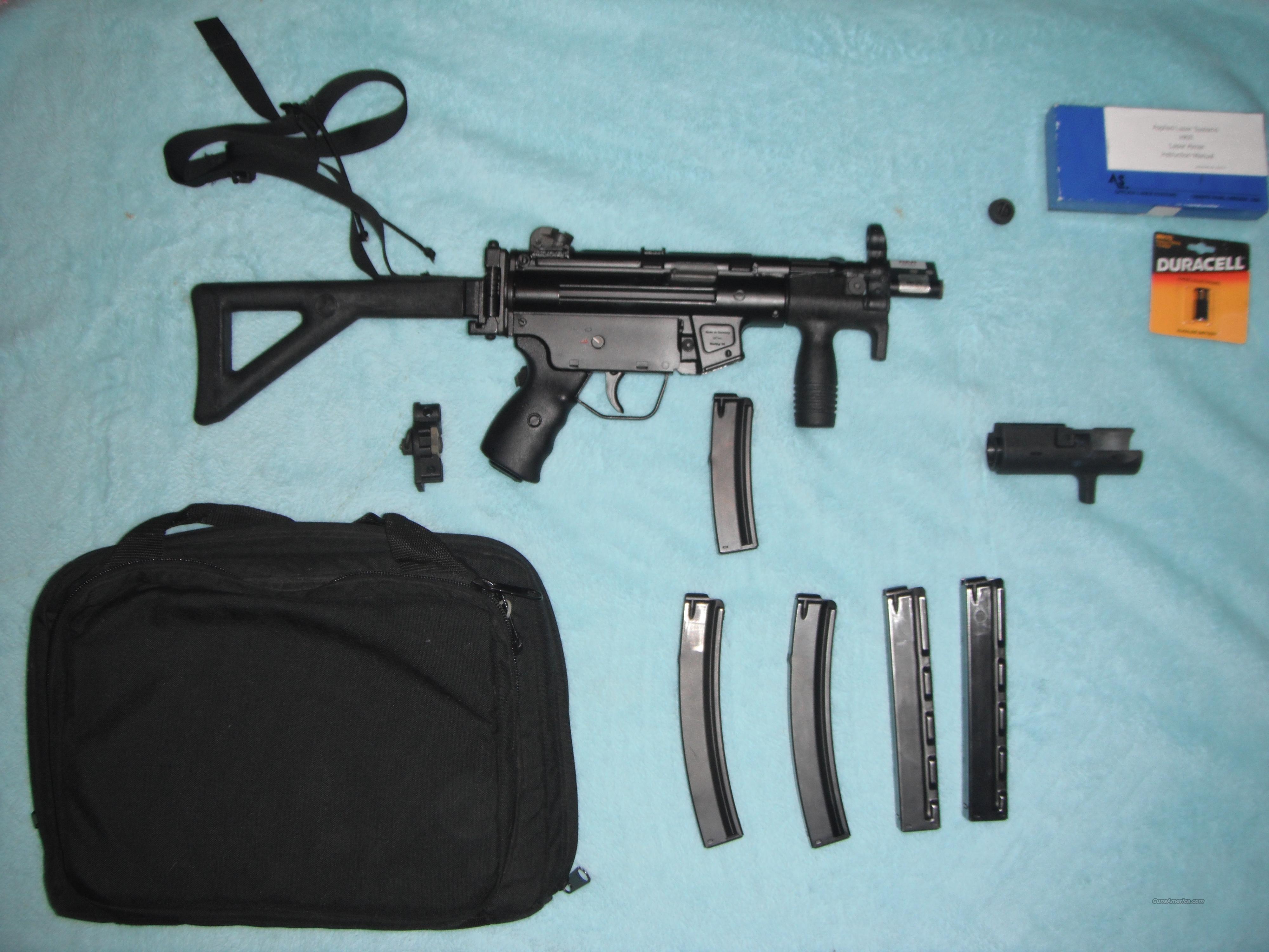 Heckler & Koch SP89  Guns > Pistols > Heckler & Koch Pistols > SteelFrame