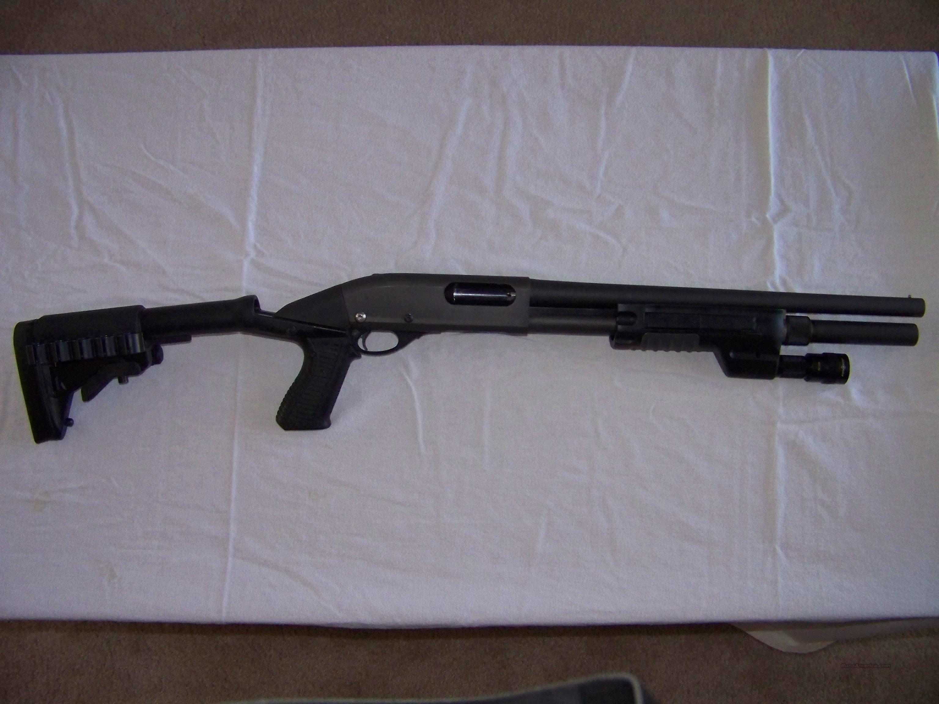 Remington 12 Gauge Tactical Riot  Guns > Shotguns > Remington Shotguns  > Pump > Tactical