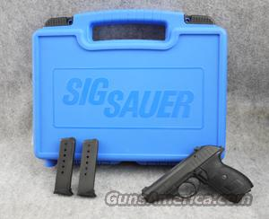 SIG-Sauer P232 .380 ACP Night Sights - Excellent with box  Guns