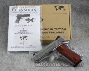 American Tactical Imports FX45 Stainless .45 ACP - Excellent in Box  Guns