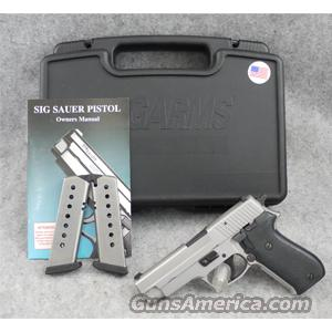 SIG-Sauer P220-1 ST All-Stainless .45 ACP - EXCELLENT WITH BOX!  Guns