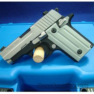 Sig Sauer P238 Two-Tone .380 Pistol with Standard Sights - LIKE NEW IN BOX!  Guns