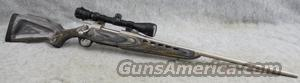Mossberg 4x4 .270 Winchester Stainless/Nickel Laminate with Mossberg 3-9x40 Scope - Very Good  Guns
