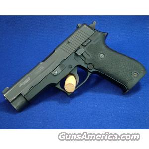 Sig Sauer P220 .45 ACP Pistol with Hogue Rubber Grips - Used in Good Condition  Guns