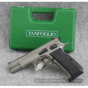 EAA Tanfoglio Witness .45 ACP Stainless - VERY GOOD IN BOX!  Guns