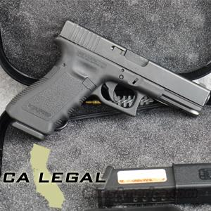 Glock 22 .40 S&W Pistol with Factory Night Sights, 10-Round Magazines, California Legal - USED IN EXCELLENT CONDITION IN BOX!  Guns