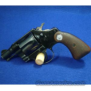 "Colt Cobra .38 Special Revolver, 2"" Barrel, Wood Grips - USED IN FAIR CONDITION  Guns"