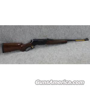 "Browning BLR Lightweight 81 Lever Action Rifle in .308 Winchester, Aluminum Receiver, Gloss Walnut Pistol Grip Stock, 20"" Blue Barrel - BRAND NEW, DISPLAY MODEL  Guns"