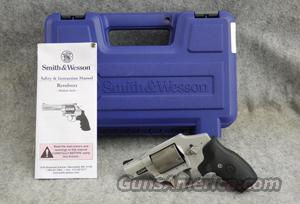 "Smith & Wesson 340SC AirLite DAO .357 Mag 2"" Laser Sight - Excellent in box  Guns"