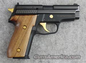 SIG-Sauer P229 Jubilee Gold .40 S&W - EXCELLENT used  Guns