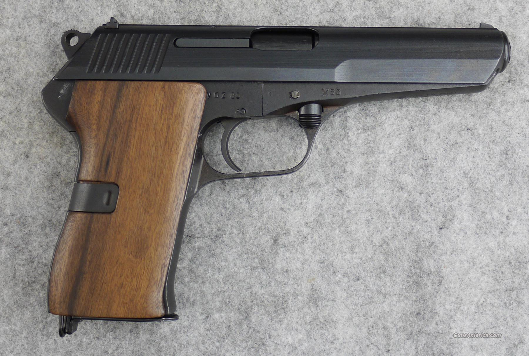 CZ VZ-52 7.62x25 Tokarev Wood Grips C&R - VERY GOOD  Guns