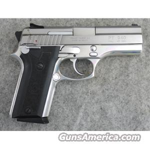 Taurus PT 940 Stainless .40 S&W - VERY GOOD  Guns