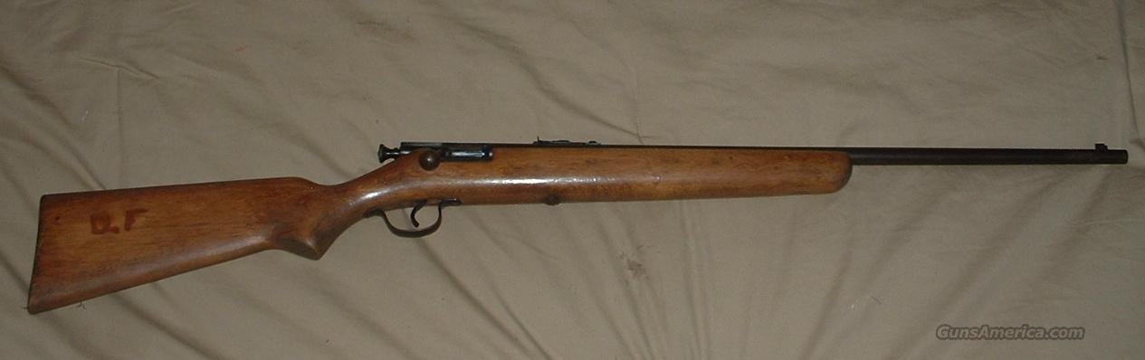 Stevens Model 15A Single Shot .22 Rifle  Guns > Rifles > Stevens Rifles