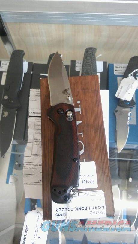 Benchmade 15031-2 North Fork NIB NO CC FEES  Non-Guns > Knives/Swords > Knives > Folding Blade > Hand Made