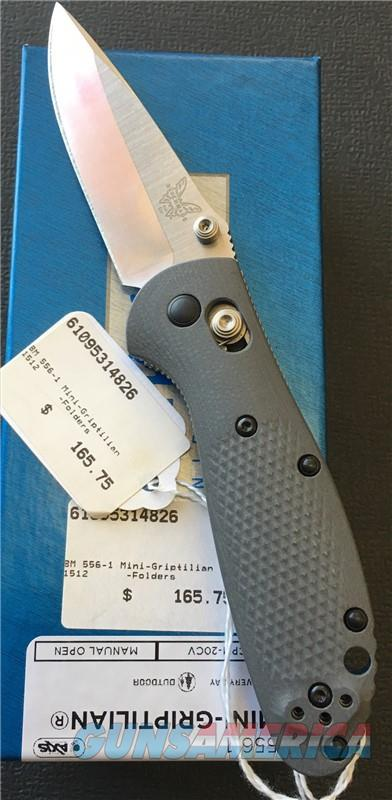 Benchmade 556-1 Mini-Griptilian NIB NO CC FEES  Non-Guns > Knives/Swords > Knives > Folding Blade > Hand Made