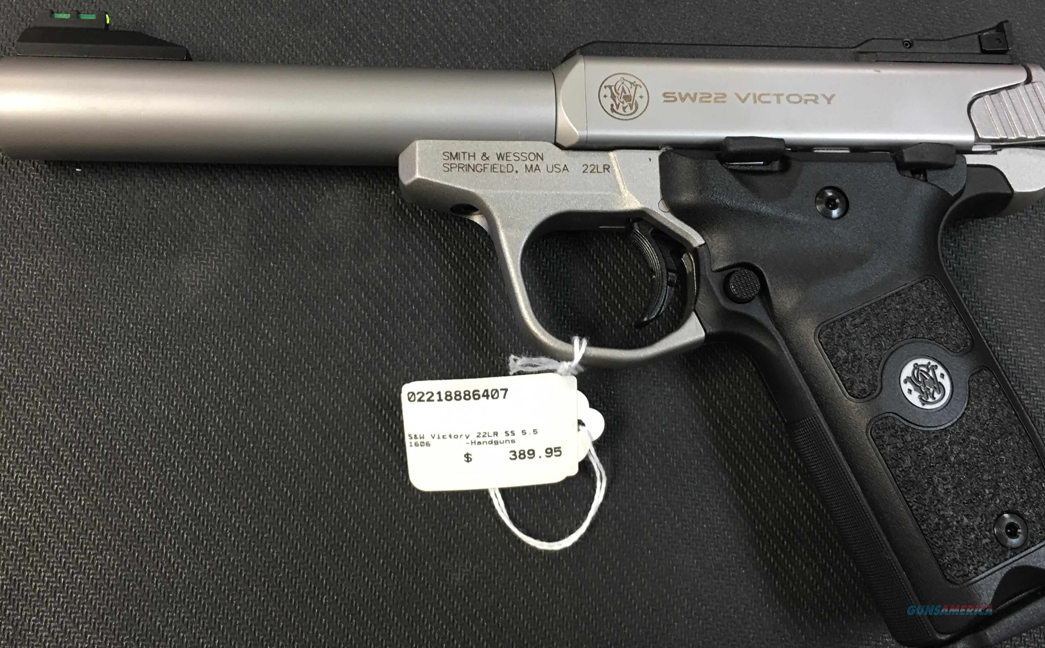 Smith & Wesson Victory 22 NIB NO CC FEES  Guns > Pistols > Smith & Wesson Pistols - Autos > .22 Autos