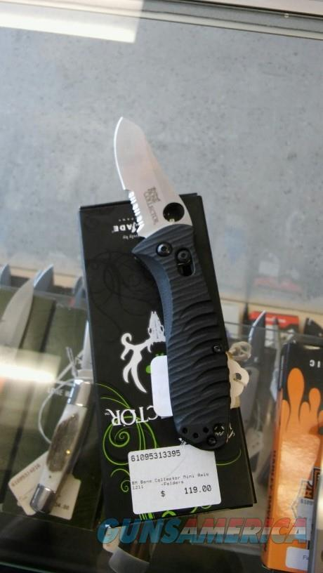 Benchmade Bone Collector 15030S Mini NIB NO CC FEES  Non-Guns > Knives/Swords > Knives > Folding Blade > Hand Made