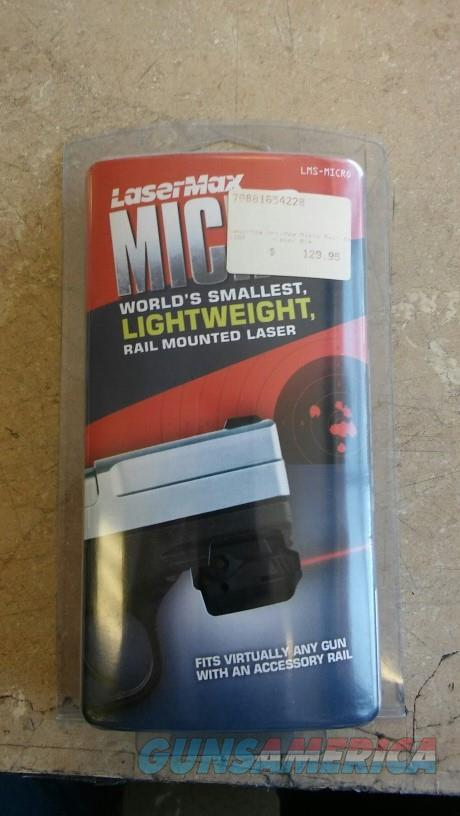 Lasermax Unimax Micro Rail NIB NO CC FEES  Non-Guns > Miscellaneous