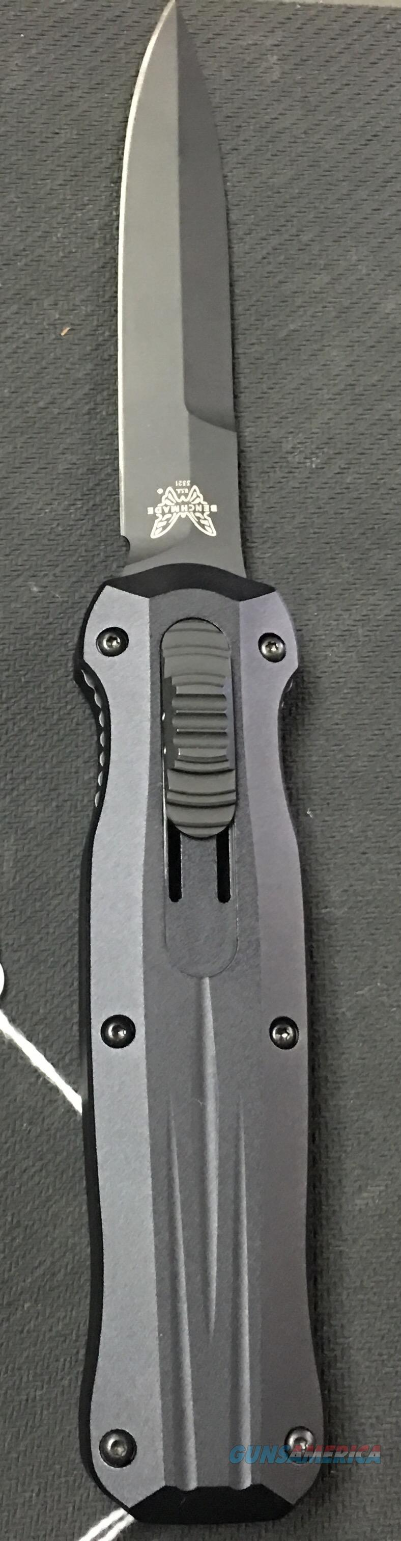 Benchmade 3321BK Pagan AUTO NIB NO CC FEES   Non-Guns > Knives/Swords > Knives > Folding Blade > Hand Made