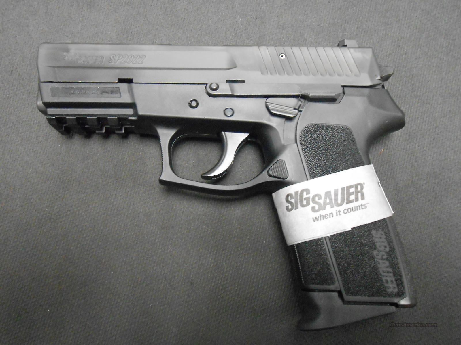 Sig Sauer SP2022 40sw E2022-40-BSS