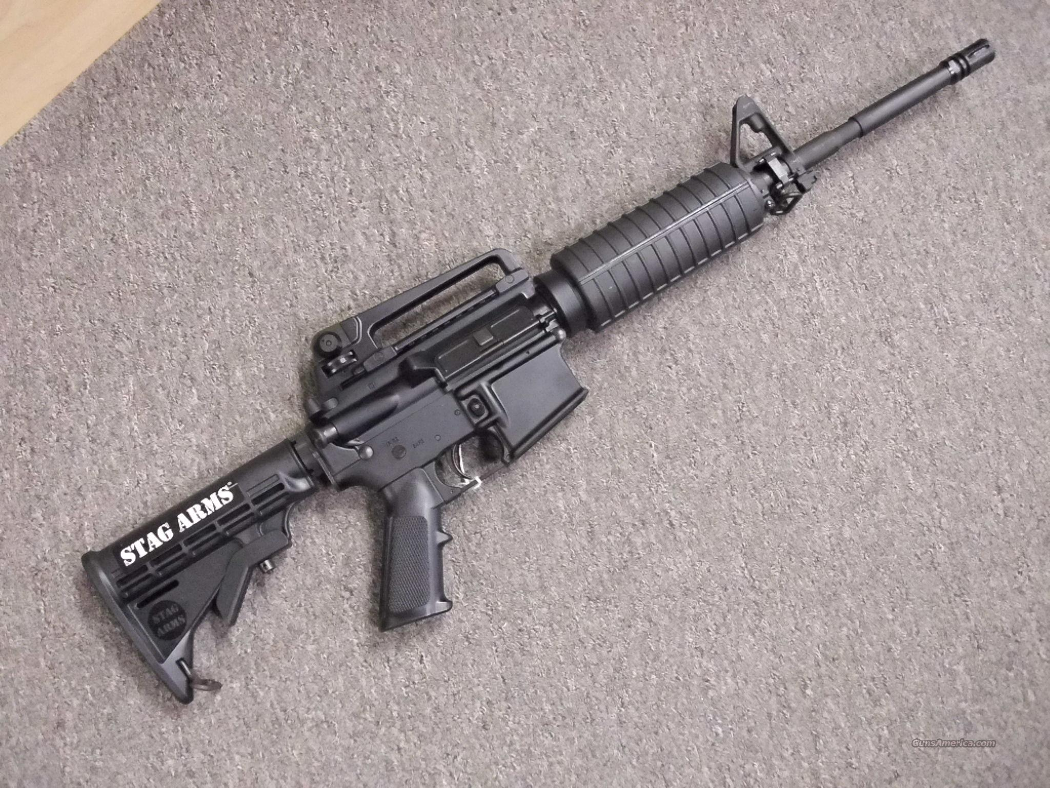 Stag Arms 1RH 5.56 AR 15 NEW AR15  Guns > Rifles > Stag Arms > Complete Rifles