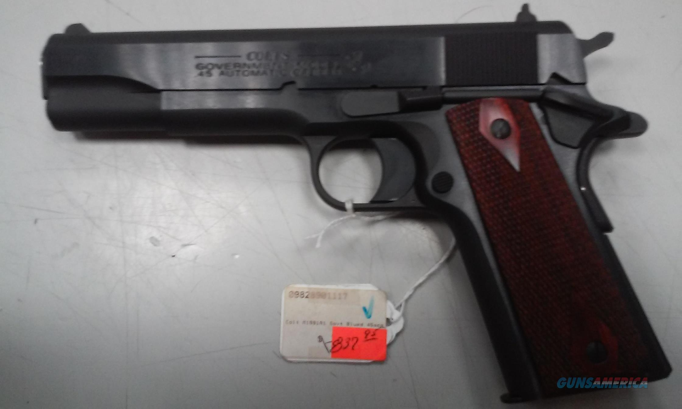 Colt 1991A1 Blued Finish  Guns > Pistols > 1911 Pistol Copies (non-Colt)