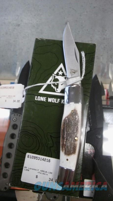 Lone Wolf 40018-100 NIB NO CC FEES  Non-Guns > Knives/Swords > Knives > Folding Blade > Hand Made