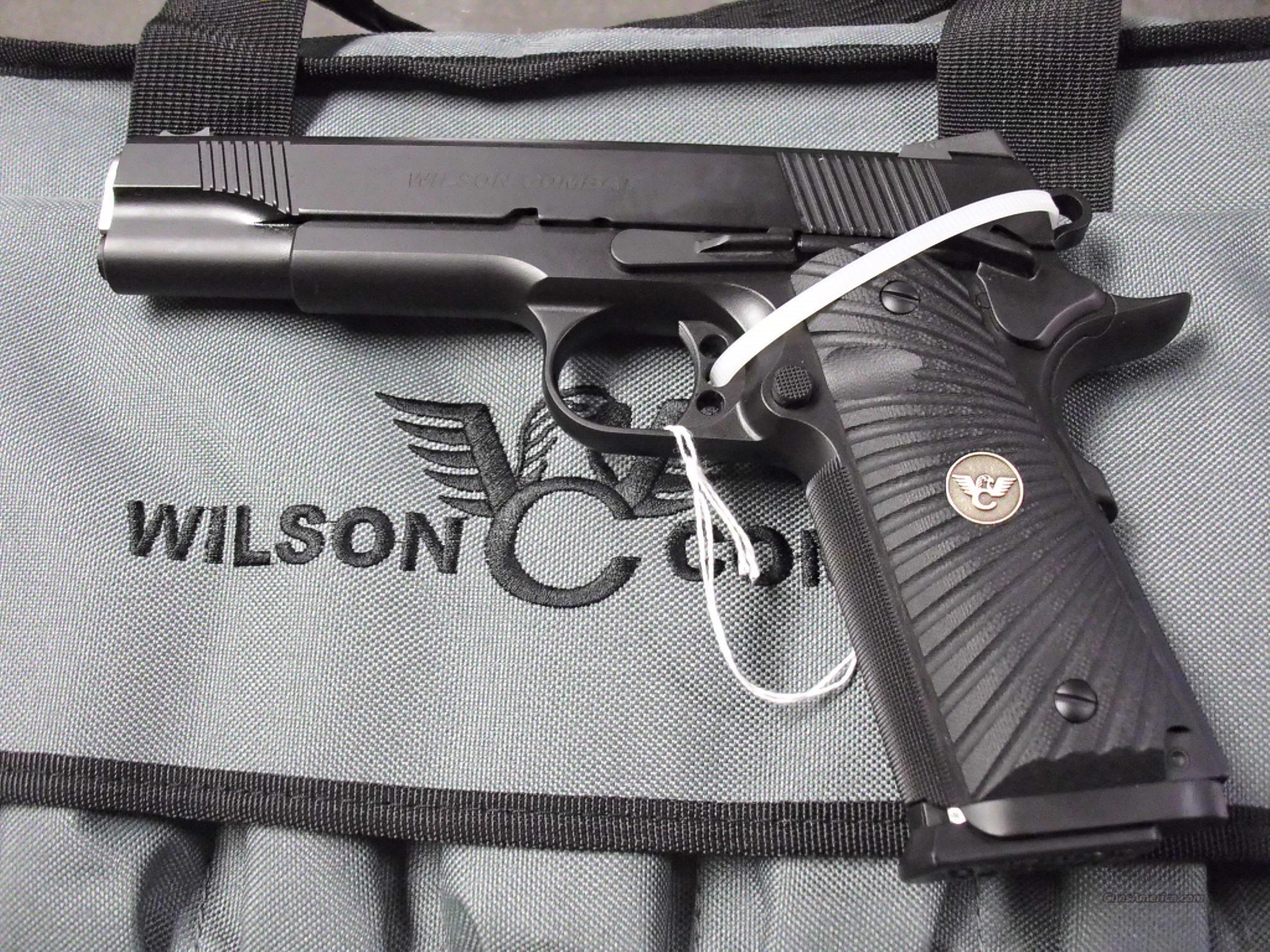 Wilson Combat CQB 45ACP NEW  Guns > Pistols > Wilson Combat Pistols