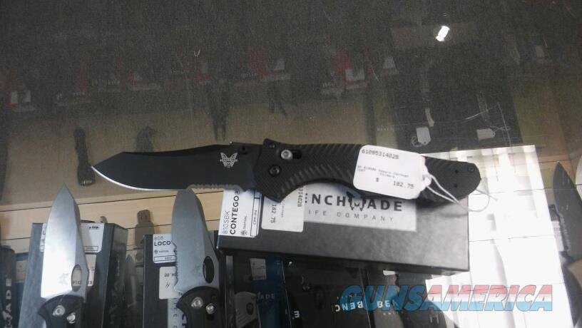 BENCHMADE OSBORN 810SBK NIB NO CC FEES  Non-Guns > Knives/Swords > Knives > Folding Blade > Hand Made