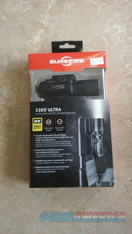SureFire X300 Ultra NIB NO CC FEES  Non-Guns > Lights > Surefire Flashlights