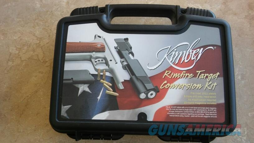 Kimber RIMFIRE TARGET CONVERSION KIT NIB NO CC FEES  Non-Guns > Gun Parts > 1911