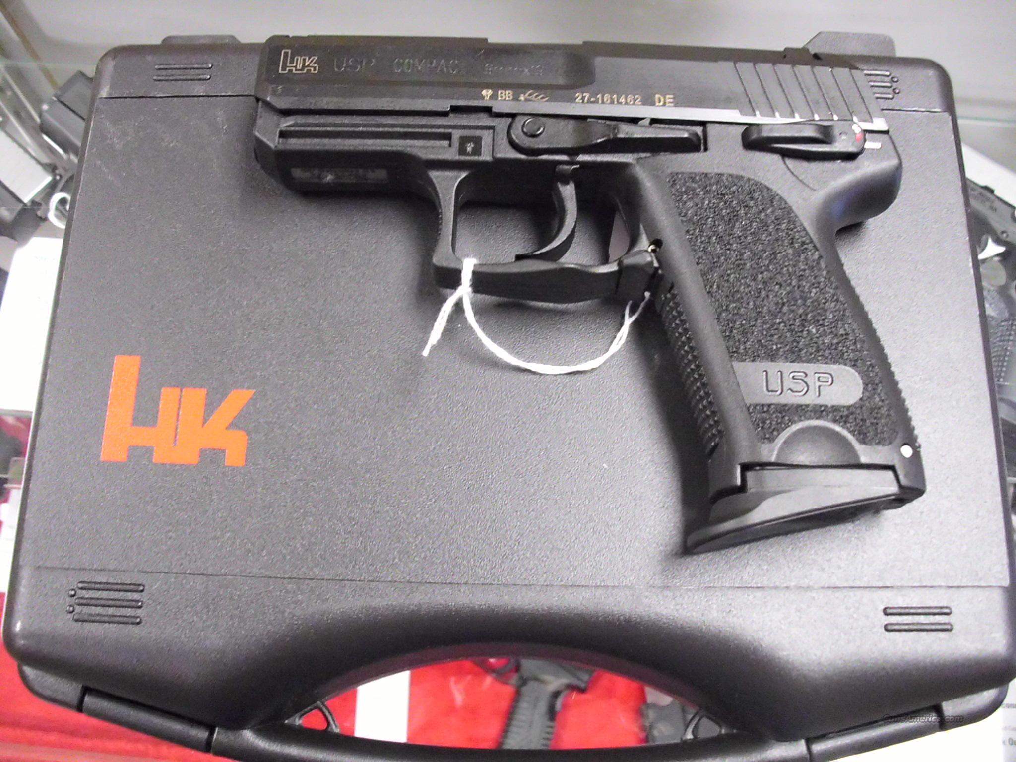 HK USP Compact 9mm NEW for sale
