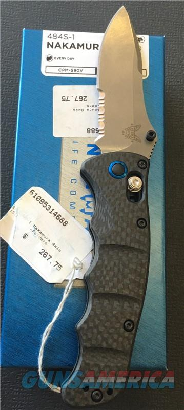 Benchmade 484S-1 Nakamura AXIS NIB NO CC FEES  Non-Guns > Knives/Swords > Knives > Folding Blade > Hand Made